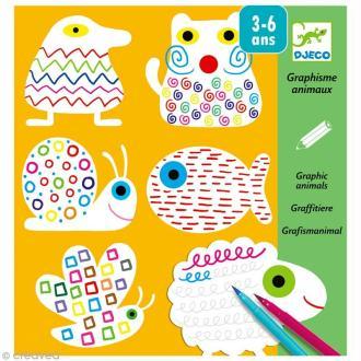 Djeco Petits cadeaux - Maternelles - Graphisme animaux