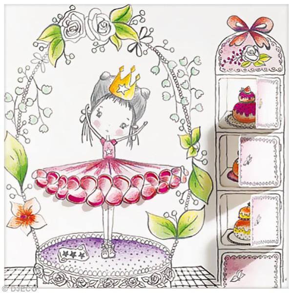 Djeco Petits cadeaux - Coloriage à fenêtres - Les petites portes de Pupi - Photo n°2