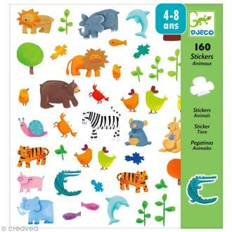Djeco Petits cadeaux - Stickers - Animaux