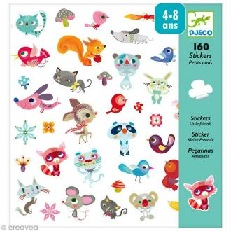 Djeco Petits cadeaux - Stickers - Petits amis