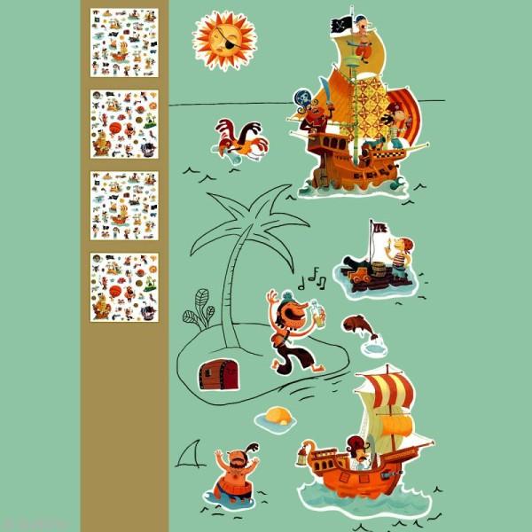 Djeco Petits cadeaux - Stickers - Pirates - Photo n°2