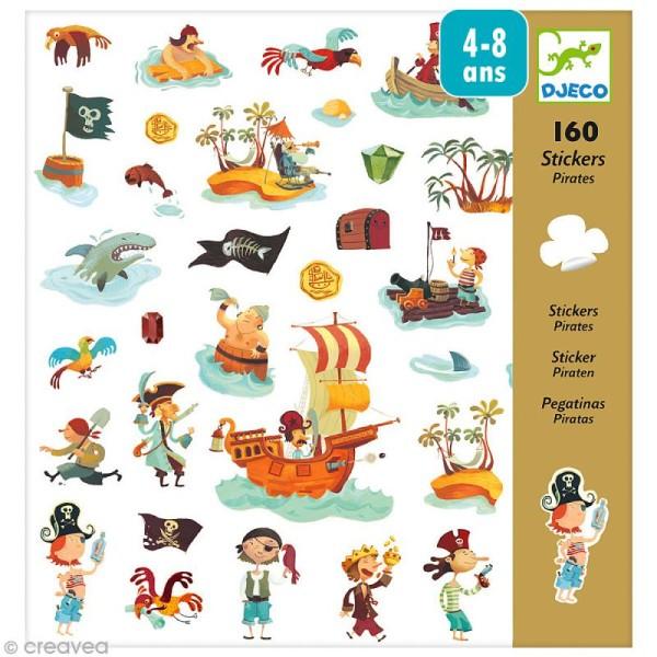 Djeco Petits cadeaux - Stickers - Pirates - Photo n°1