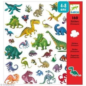 Djeco Petits cadeaux - Stickers - Dinosaures