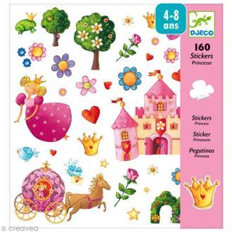 Djeco Petits cadeaux - Stickers - Princesse Marguerite