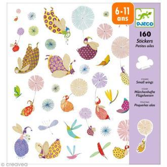 Djeco Petits cadeaux - Stickers - Petites ailes