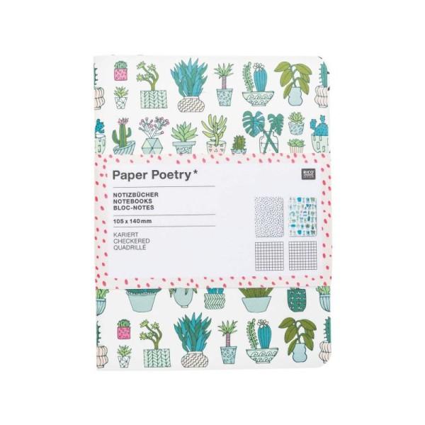 2 Petits Carnets 10.5x14 cm Paper Poetry - HYGGE - Photo n°3