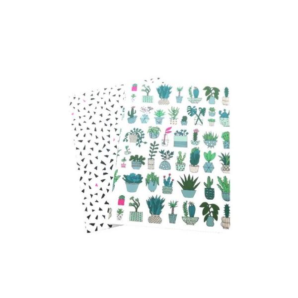2 Petits Carnets 10.5x14 cm Paper Poetry - HYGGE - Photo n°1