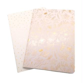 2 Grands Carnets 14.5x21cm Paper Poetry - HYGGE