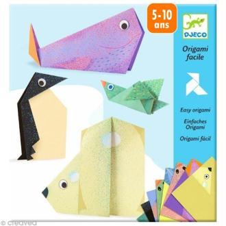 Djeco Petits cadeaux - Origami - Les animaux polaires