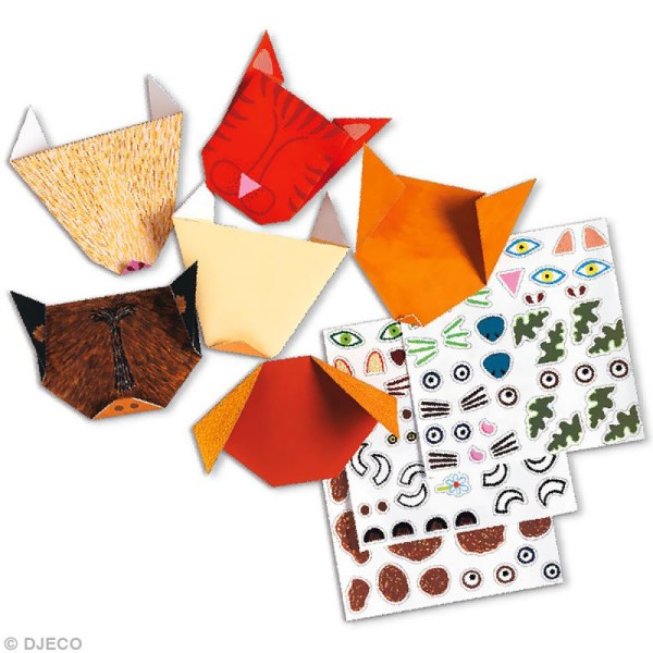 Djeco Petits cadeaux - Origami - Animaux - Photo n°2