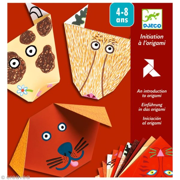 Djeco Petits cadeaux - Origami - Animaux - Photo n°1