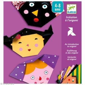 Djeco Petits cadeaux - Origami - Visages