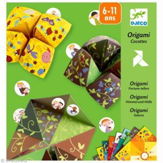 Djeco Petits cadeaux - Origami - Salières / Cocottes à gages