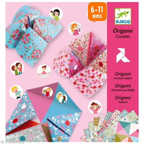 Djeco Petits cadeaux -Origami - Cocottes / Salières à gages - Photo n°1