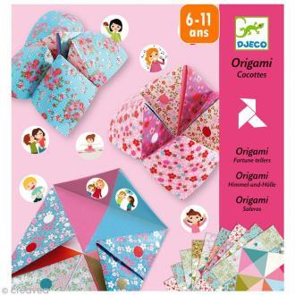 Djeco Petits cadeaux -Origami - Cocottes / Salières à gages