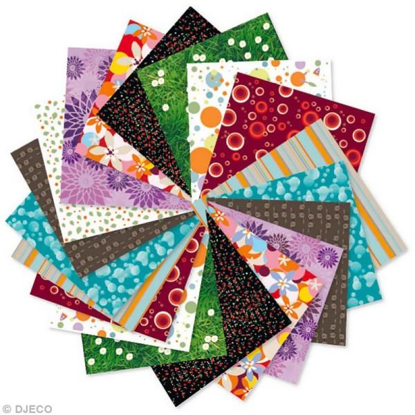 Djeco Petits cadeaux - Origami - 80 papiers imprimés - Photo n°2