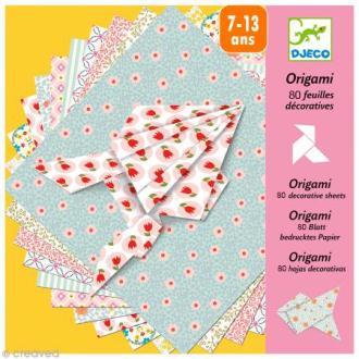 Djeco Petits cadeaux - Origami - 100 feuilles décoratives