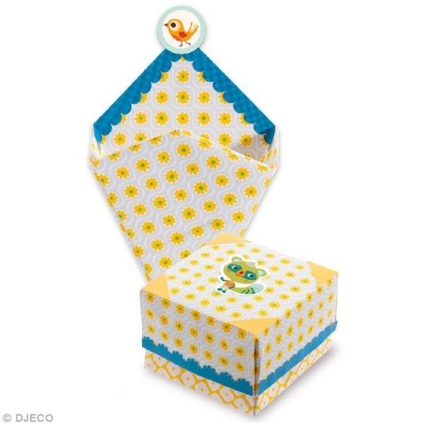 Djeco Petits cadeaux - Origami - Petites boîtes - Photo n°2