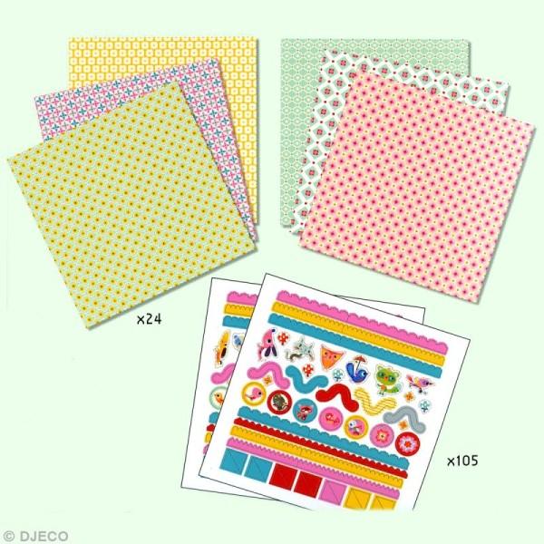 Djeco Petits cadeaux - Origami - Petites boîtes - Photo n°3
