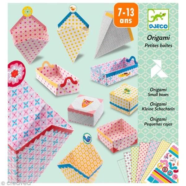 Djeco Petits cadeaux - Origami - Petites boîtes - Photo n°1