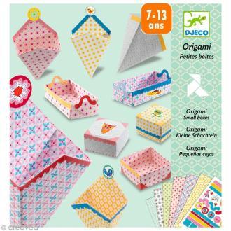 Djeco Petits cadeaux - Origami - Petites boîtes