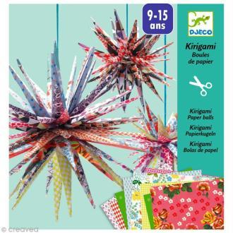 Djeco Petits cadeaux - Kirigami - Boules de papier