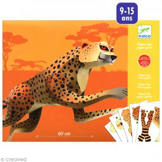 Djeco Petits cadeaux - Paper toys - Jaguar géant 60 cm