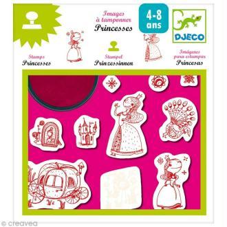 Djeco Petits cadeaux - Images à tamponner - Princesses