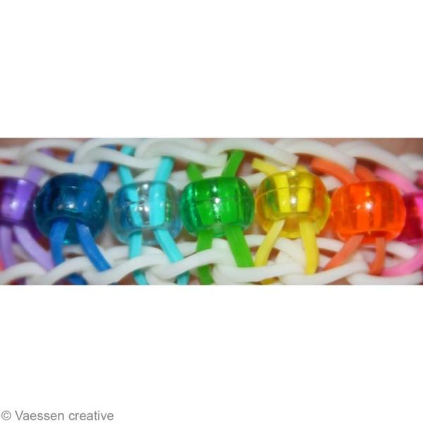 Kit perles bracelet loops - assortiment - 144 pcs - Photo n°3