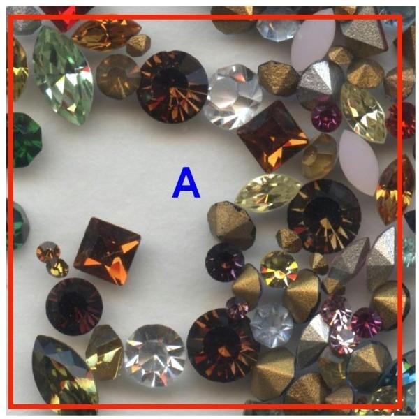 """Lot 24 cabochons /""""anciens /""""  pour loisirs et créations bijoux  ou réparations"""