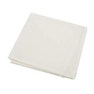 6 Serviettes de table polyester unies écrue
