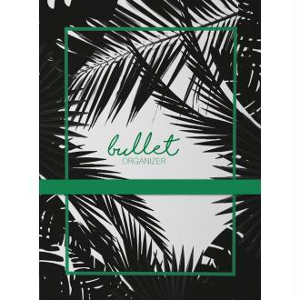 Bullet Journal LE COQ EN PAPIER TROPICO Jungle 17x22cm