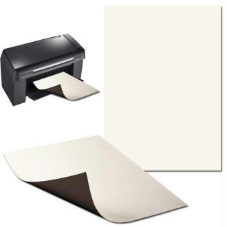 Papier magnétique imprimable x 5 Format A4