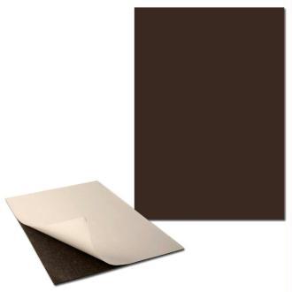 Plaque magnétique adhésive 0,5 mm x 2  Format A4