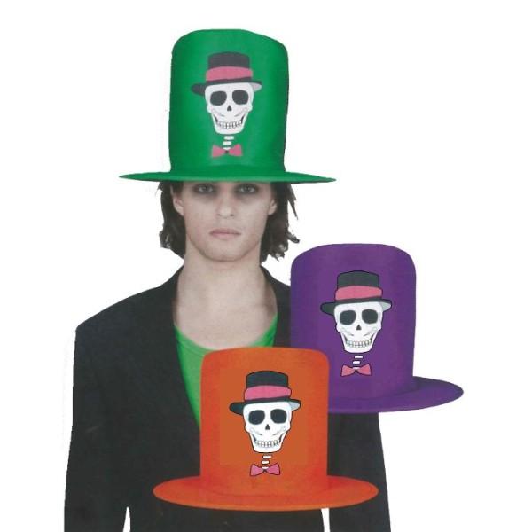 3 Chapeaux Funny Skull assorties - Photo n°1