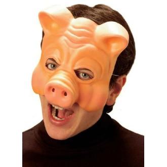 6 Masques cochon élastomère