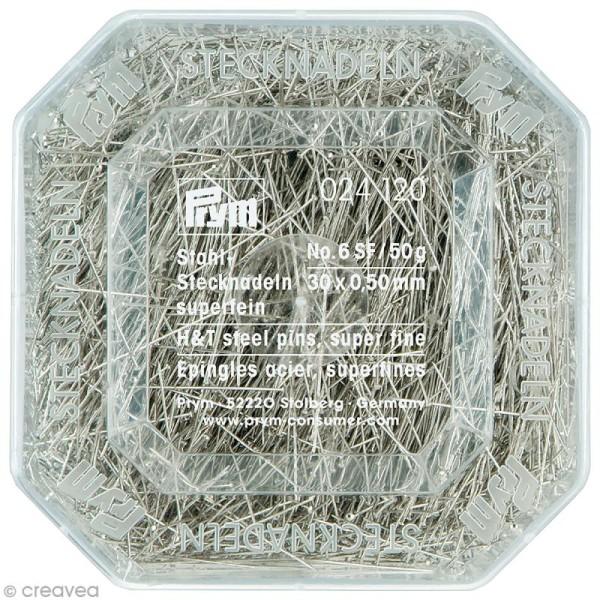 Épingle n°6 en acier - 30 x 0,5 mm - 50 g - Photo n°1