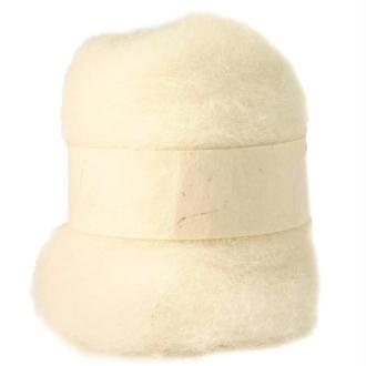 Laine cardée blanc 100 gr