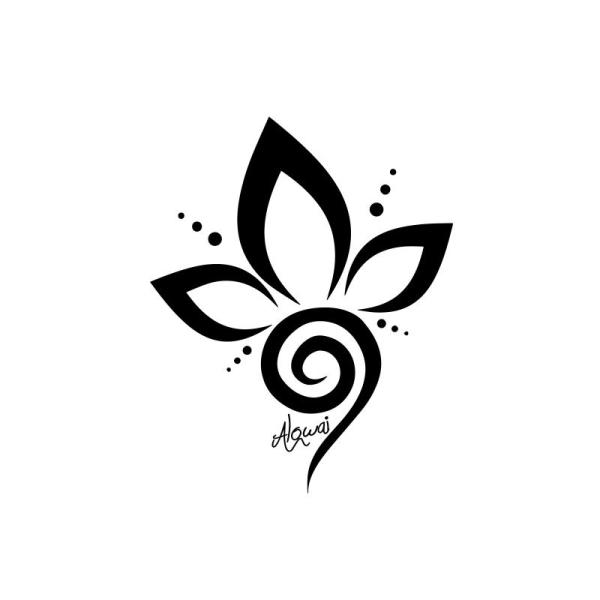 Flex Thermocollant Tattoo Fleur Motifs Flex Thermocollant Creavea