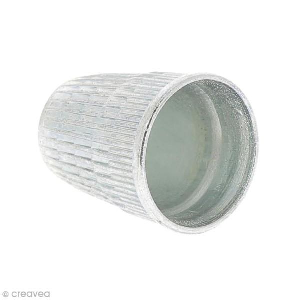 Dé à coudre en métal antidérapant - 18 mm - Photo n°2