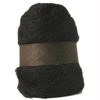Laine cardée noir 100 gr