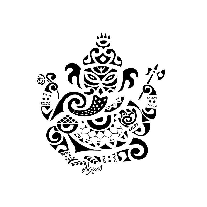 Flex Thermocollant Tattoo Ganesh Flex Thermocollant Creavea