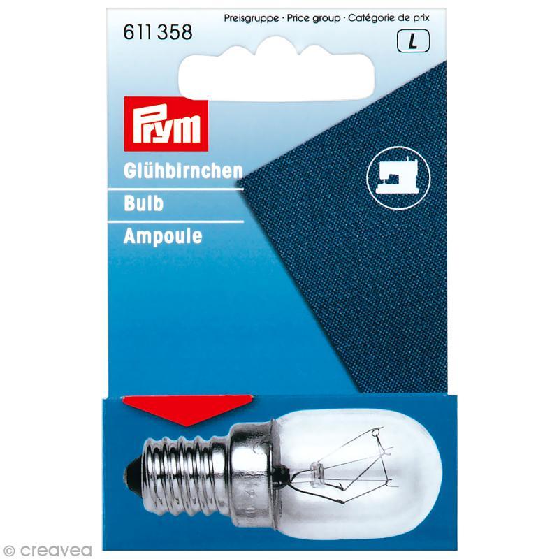 ampoule vis e14 15w pour machine coudre accessoires machine coudre creavea. Black Bedroom Furniture Sets. Home Design Ideas