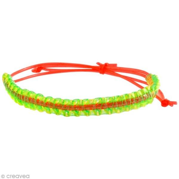 Fil scoubidou Fashion Strings Transparent - 1 mètre - 50 pcs - Photo n°2