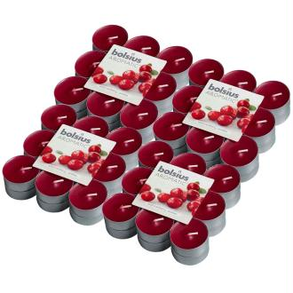 Bolsius Bougie Chauffe-plat Parfumée 72 Pcs Canneberge 103626949389