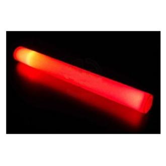 12 Bâtons lumineux mousse rouge clignotant 48 cm