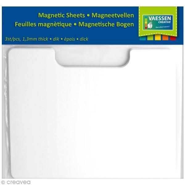 Plaque magnétique pour dies - 23 x 18 cm - 3 pcs - Photo n°1