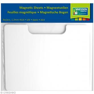 Plaque magnétique pour dies - 23 x 18 cm - 3 pcs