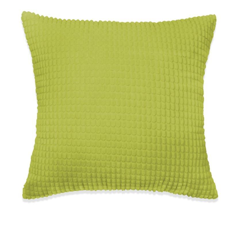 vidaxl jeu de coussin 2 pcs velours 60 x 60 cm vert coussins pour fauteuils et canap s creavea. Black Bedroom Furniture Sets. Home Design Ideas