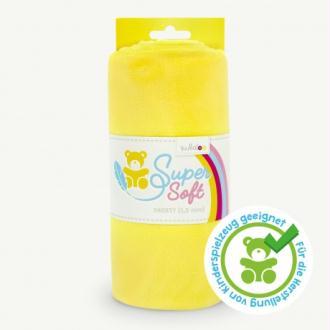 Coupon de tissu Minky pour peluche jaune - Kullaloo
